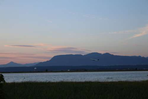 Sky Cloud Mountain Sea Water Ocean Sunset Dawn