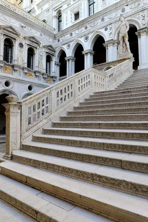 Staircase Building Architecture Venice