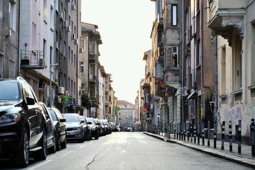 Street Sofia Morning Architecture The Sidewalk