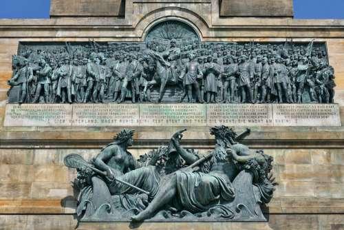 The Niederwalddenkmal The Main Relief 133 Figures