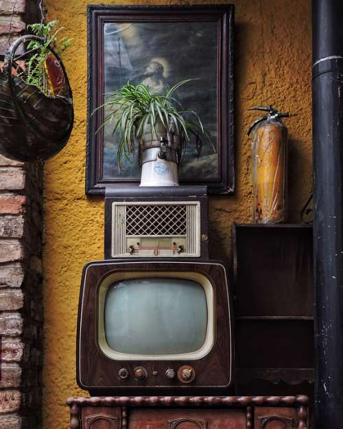 Vintage Bogota Old Retro Decoration 80S Interior