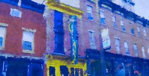Blue City Block