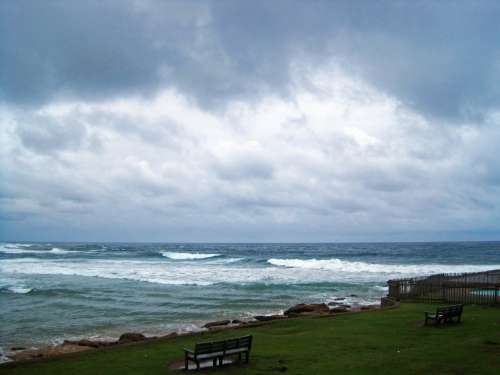 View Of The Sea In Kwa-zulu Natal