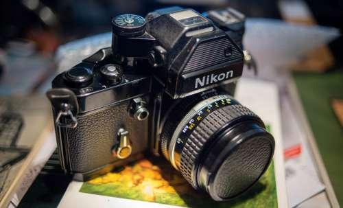 Nikon F2 Nikon F2 Photomic analog camera film camera vintage camera