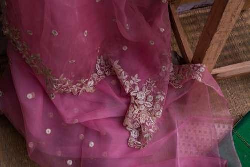 wedding wear pink magenta purple
