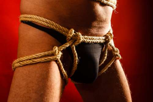 bondage fetish bdsm male bondage tanga