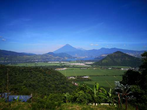 guatemala volcano mountainous landforms mountain highland