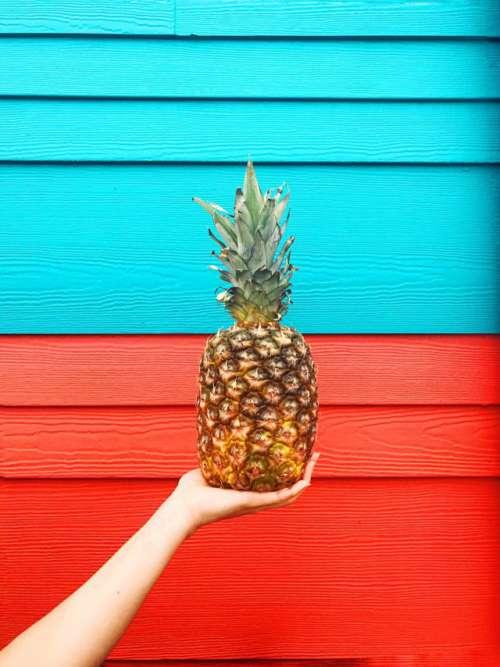 Pineapple in the summertime.