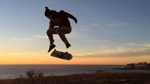 Skateboarding in Royan... Charente Martime - France ATnT 2015