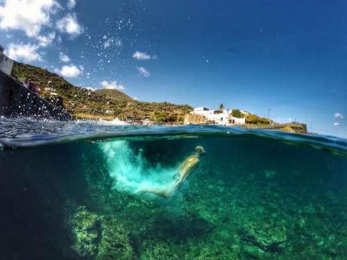 Man Underwater - Pantelleria Island  Nominated
