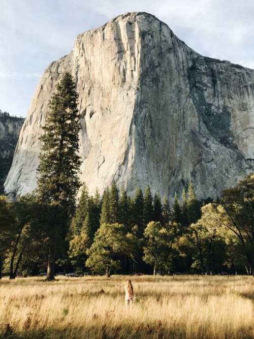 Face to face with El Capitan