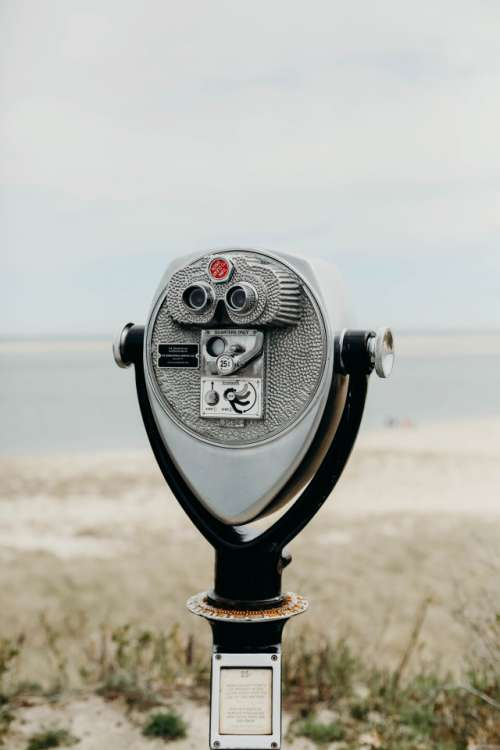 Viewfinder at the beach