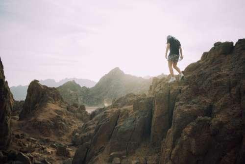 Mountains climbing trip