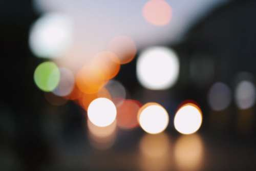 Urban lights...