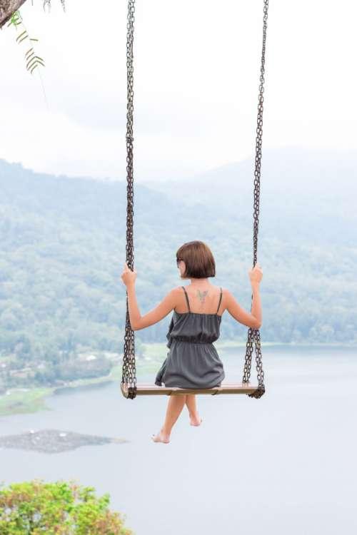 swing over the precipice