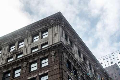 city building angle sky windows