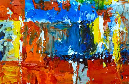 abstract painting art artist canvas