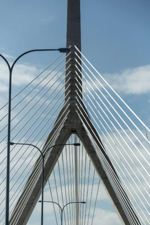 bridge abstract city angle architecture