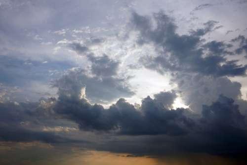 clouds dusk sunset sky background