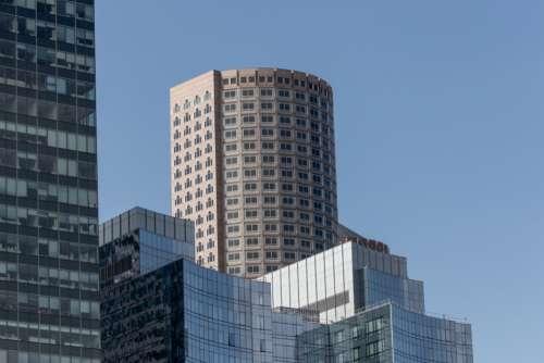city buildings day skyline sky