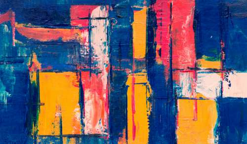 colorful abstract painting art creative