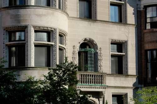 ornate building exterior city urban