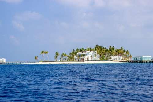 Mansion in Maldives
