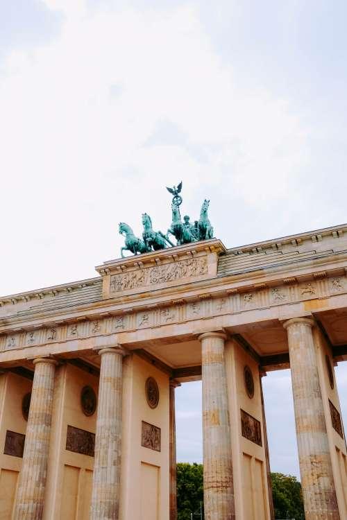 Brandenburg Gate Germany Photo