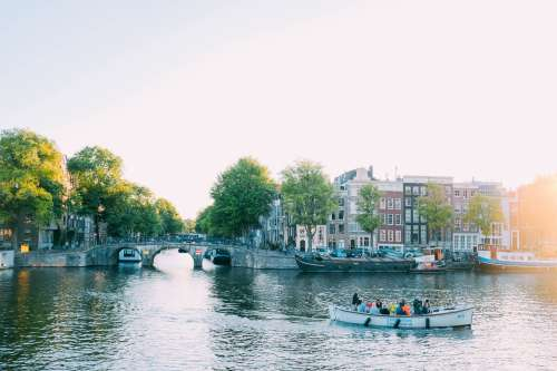 Boat Tours In Amsterdam Photo
