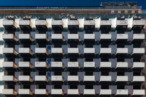 Apartment Balconies Photo