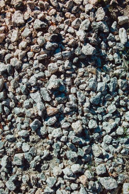 Assortment Of Grey Rocks Photo