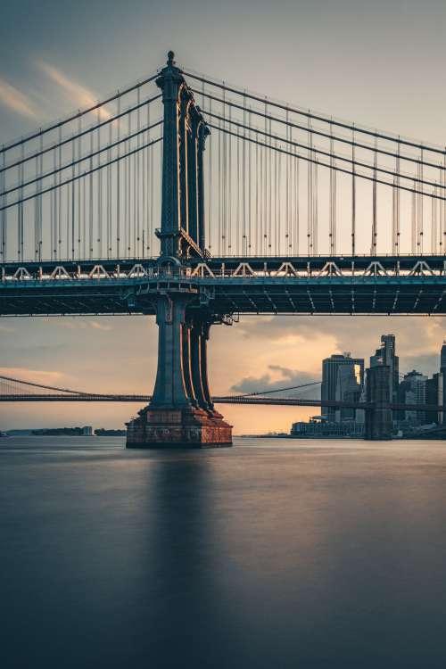 City Bridges In The Evening Photo
