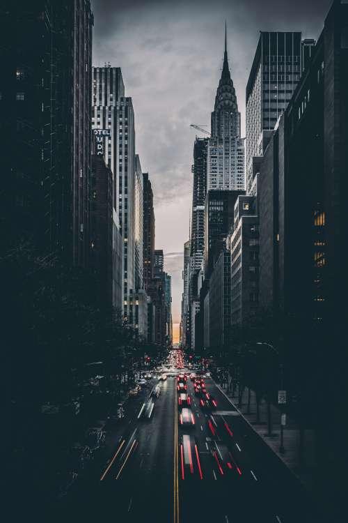 Dark New York Photo