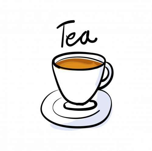 Cup of tea vector icon