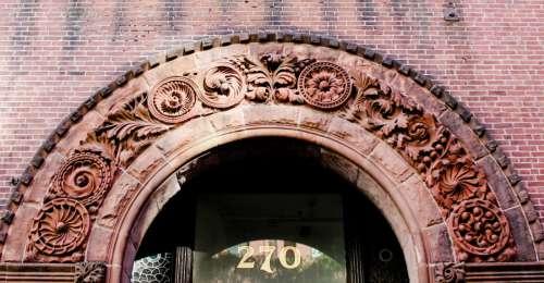 Brick Entrance Arch