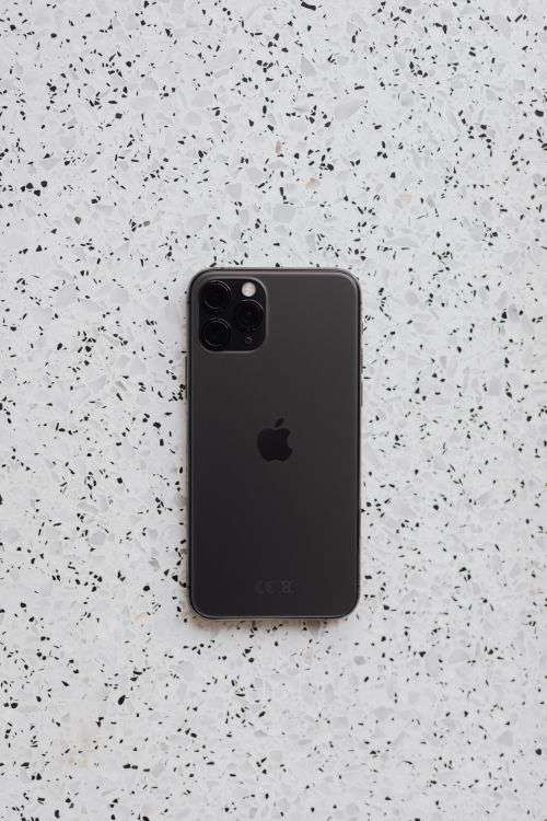 Apple iPhone 11 Pro on marble
