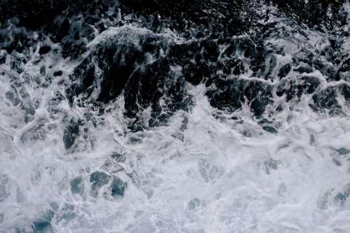 Ocean Splash Foam Free Photo