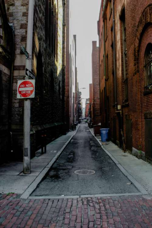 City Alley Street Free Photo