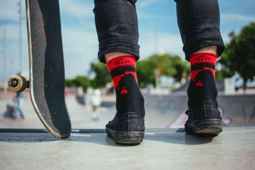 Shoes Skateboard Park Free Photo
