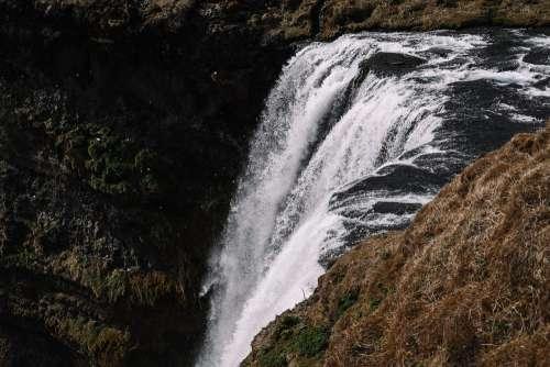 Skógafoss Waterfall, Iceland Free Photo