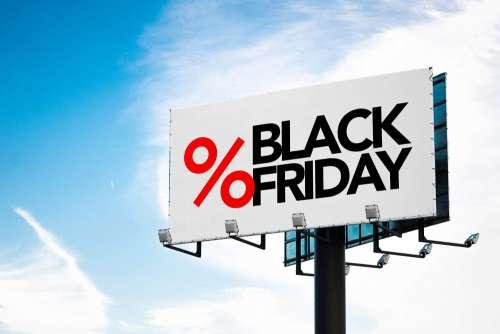 Black Friday Billboard Free Photo