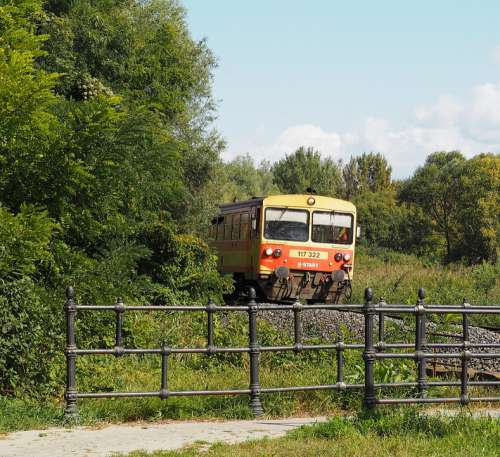 Train Rail Transport Dmu Bzmot