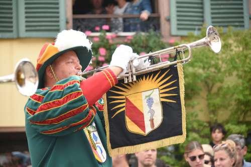 Trumpet Music Instrument Musician Human Trumpeter