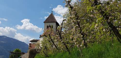 South Tyrol St Peter Meran Church