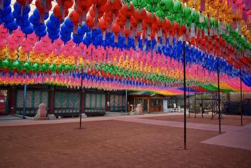 Temple Seoul South Korea Korea Asia