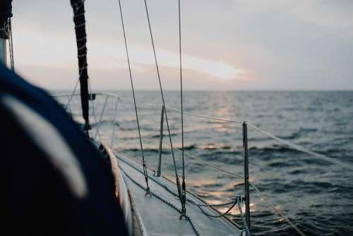 Sailing Boating Water Sailboat Sea Boat Nautical