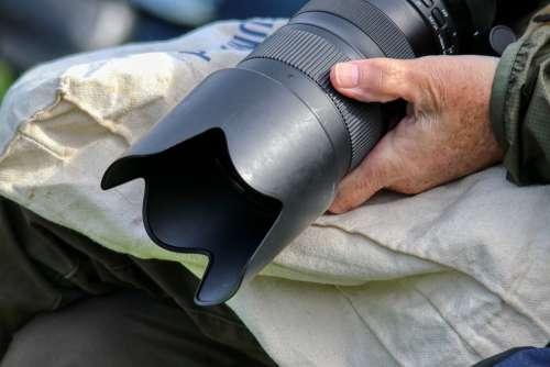 Photographer Camera Lens Reporter Photo