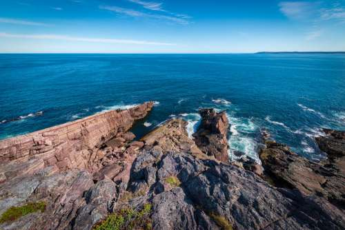 Newfoundland Canada Ocean Landscape Nature