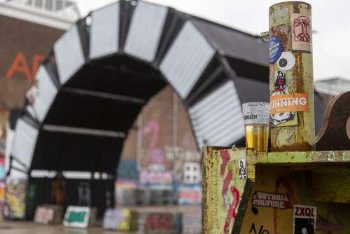 Ndsm Shipyard Netherlands Beer Festival Art