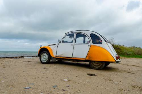 Citroën 2Cv Automobile Car Vintage Old Collection